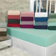 Lençol Plush Casal com elástico Avulso - Conforto - Dui Design