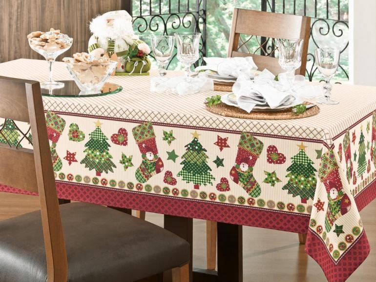 Resultado de imagem para toalhas de mesa para Natal