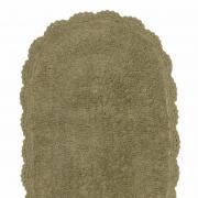 Tapete 40x60cm de algodão com antiderrapante 1300g/m² - Crochê - Kacyumara