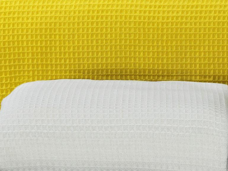 Colcha Avulsa de Algodão Piquet Favo Queen - Waffle - Dui Design